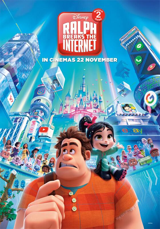 دانلود انیمیشن Ralph Breaks the Internet 2018 با دوبله فارسی انیمیشن مالتی مدیا
